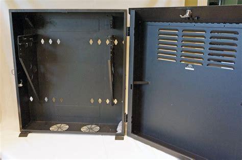 Tripp Lite 5u Wall Mount Secure Rack Enclosure Vertical