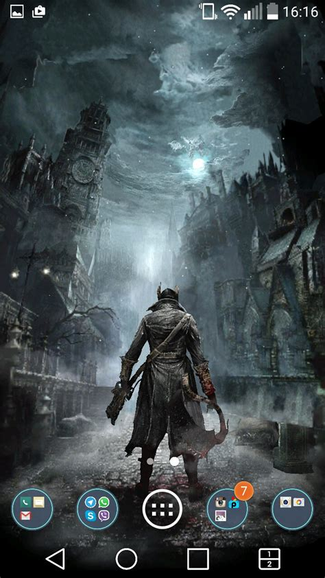 Bloodborne Animated Wallpaper - fan made bloodborne live wallpaper app ranking and store