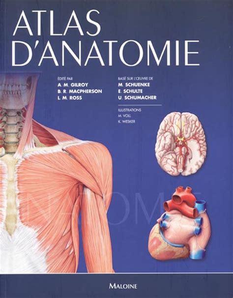 téléchargement de livre d anatomie humaine atlas d'anatomie