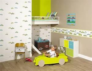Papier Peint Bébé Garcon : chambre enfant galerie tendance ~ Nature-et-papiers.com Idées de Décoration