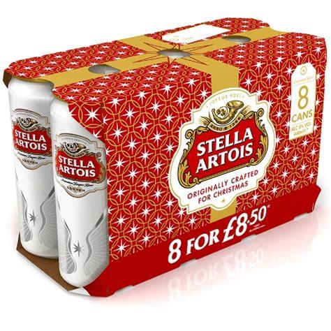 stella artois launches new christmas packs