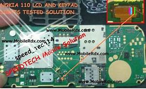Nokia 110 And 111 Lcd Light Jumper Solution