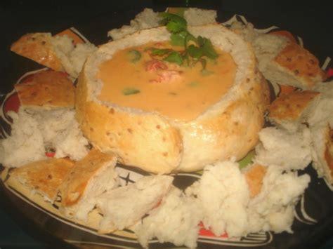 dips cuisine cheese dip in bread bowl recipe food com