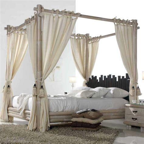 chambre en bambou chambre a coucher baldaquin bambou