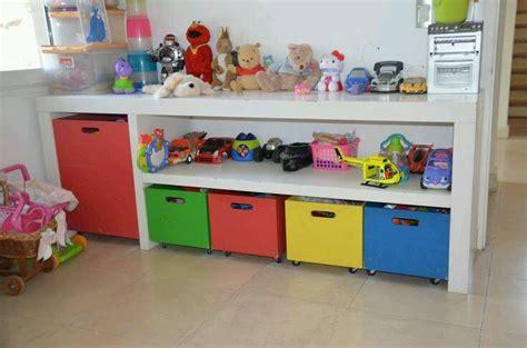 ideas  organizar los juguetes de tus hijos  como