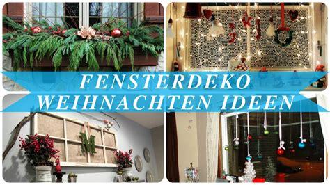 Fensterdekoration Weihnachten by Fensterdeko Weihnachten Ideen