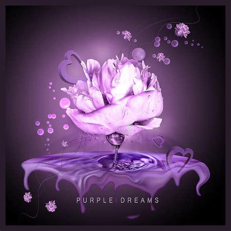 purple dreams digital art pictures   images