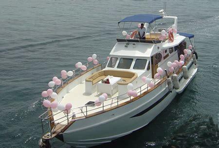 Boat Wedding Decoration Ideas by Yacht Wedding Decoration Ideas