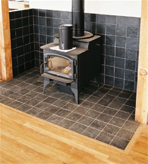 wood burn stove area kitchen other metro by custom by trade