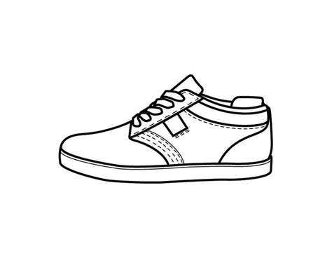 Coloring Shoes by Printable Shoe Coloring Page From Freshcoloring