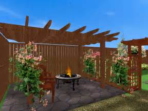 Patio And Deck Ideas For Small Backyards by Triyae Pergola Ideas For Small Backyards Various