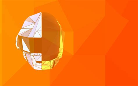 1920x1200 Low Poly Daft Punk 1200P Wallpaper, HD Abstract ...