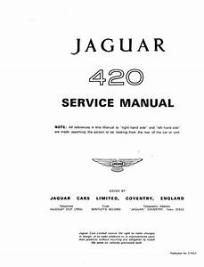 Jaguar 420 Service Manual Pdf  22 8 Mb