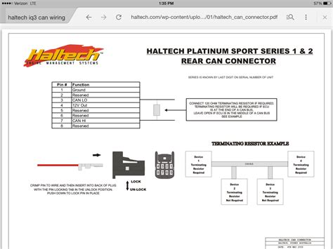 haltech wiring racepak iq3 can connector rx7club mazda rx7 forum
