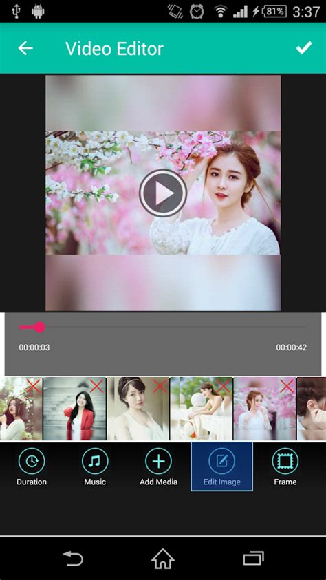 photo video maker  song  android