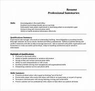 Sample Professional Summary Template 8 Free Documents Good Resume Summary Examples Resume Examples Executive Summary Resume Resume Executive Summary Resume Format Download Pdf
