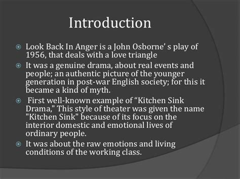 look back in anger kitchen sink drama kitchen sink drama in look back anger pdf wow 9887