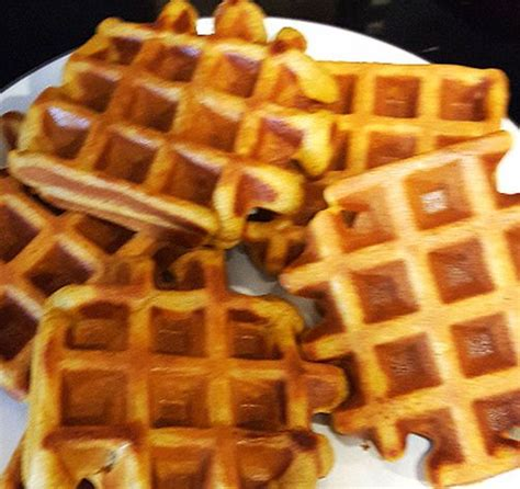 Add enough flour to make mixture thick, about 2 to 4 tablespoons all together. Trader Joe's Gluten Free Pumpkin Pancake Mix - As Waffles! | Nutrition Milestones | Pumpkin ...