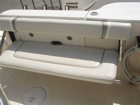 Wellcraft Boat Seat Cushions by Wellcraft Folding Seat Transom Leanpost The Hull