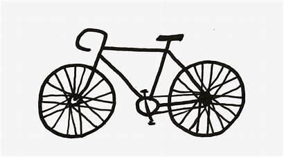 Bike Drawing Bicycle Draw Medium Easy Dirt