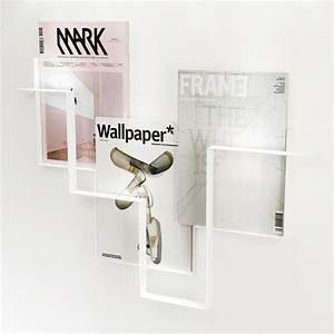 Porte Revue Design : porte revues design blanc frederik roije ~ Melissatoandfro.com Idées de Décoration