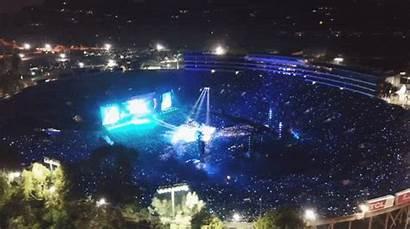 Concert Rose Bowl Stadium Bts Flycam Filmed