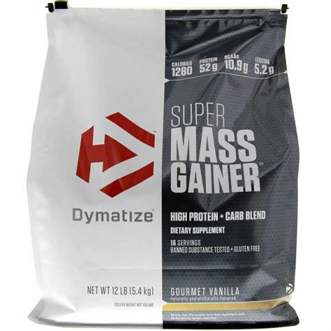 Dymatize Nutrition Super Mass Gainer - 12 lbs | Protein