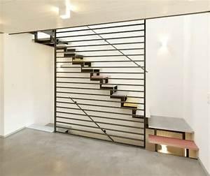 Treppe Handlauf Holz : moderne treppe treppen pinterest moderne treppen treppe und treppe ideen ~ Watch28wear.com Haus und Dekorationen
