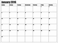 8 Best Images of 2016 Calendar Printable January Through