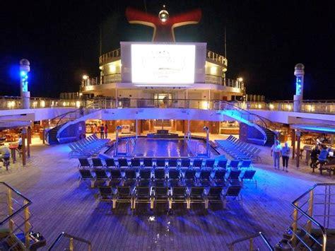 Carnival Liberty Cruise Ship Night