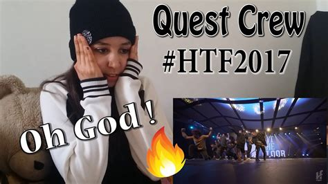 hit the floor quest crew quest crew hit the floor gatineau htf2017 reaction youtube