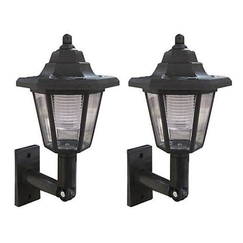 Led Solar Power Wall Mounted Lantern L Sun Lights