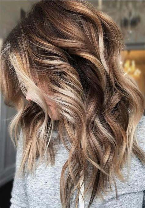 beautiful brunette balayage hair color ideas