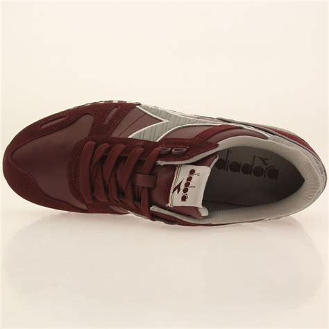 leather ls diadora men titan leather ls purple advent violet