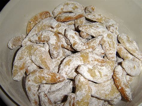 vanillekipferl rezept ohne ei vanillekipferl ohne ei rezept mit bild traude chefkoch de
