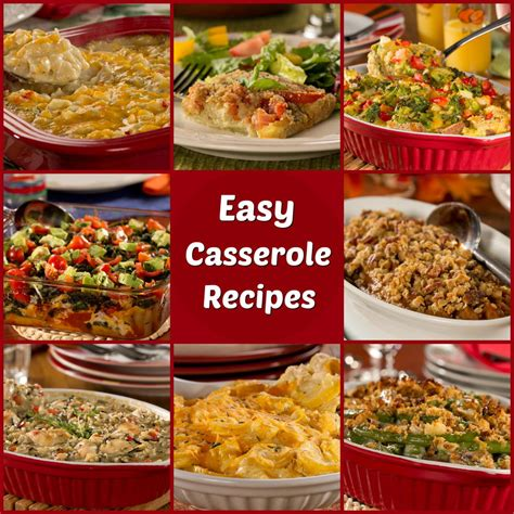 10 easy casserole recipes everydaydiabeticrecipes com