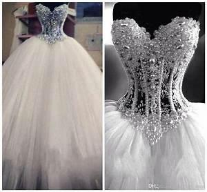 Luxury-Bling-Vestido-De-Noiva-Corset-Bodice-Sheer-Ball