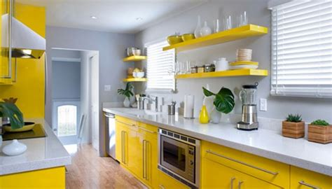 How To Design A Yellow Kitchen
