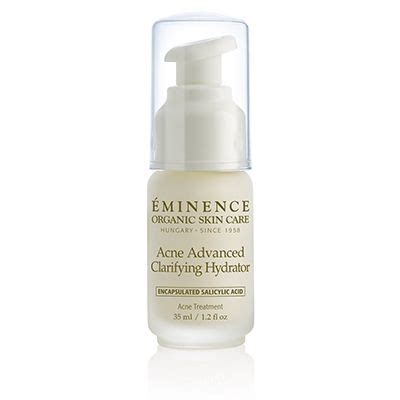 eminence organics acne advanced clarifying hydrator eden day spa