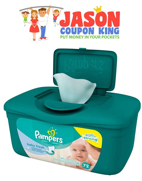 Print this $0.25 coupon for Pampers Baby Wipes