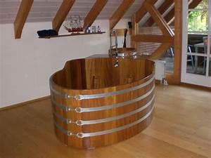 Fond De Baignoire : baignoire en bois sur mesure et spa en bois vente en ligne exp dition dans toute la france ~ Melissatoandfro.com Idées de Décoration