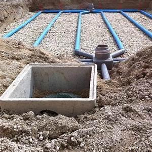 Comment Faire Un Drainage : comment evacuer eaux pluviales comment raccorder les eaux ~ Farleysfitness.com Idées de Décoration