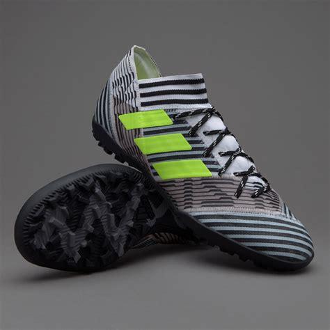 sepatu futsal adidas original nemeziz 17 3 tf white solar yellow black