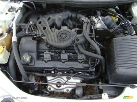 2004 Chrysler Sebring Engine by 2004 Chrysler Sebring Lx Convertible 2 7 Liter Dohc 24