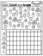 Winter Items Math Graphing Graphing Math Kindergarten Math Math Included In The Set Winter Wonder Math January Math Printables Winter Math Telling Time Few Preview Pages Of The 1st Grade Winter NO PREP Winter Math Pack