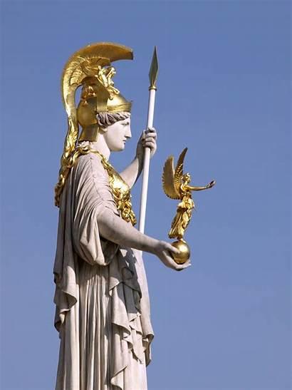 Nike Vienna Sculpture Statue Athene Mythology Pallas