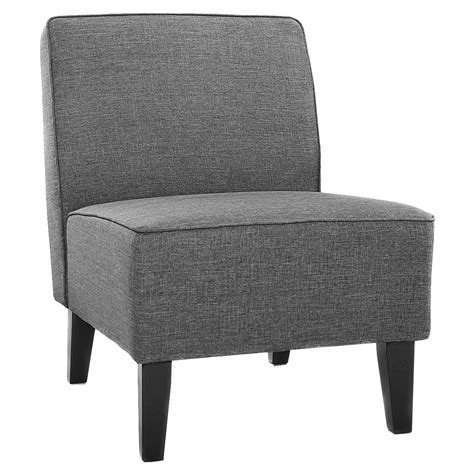 costway accent chair armless contemporary dining chair