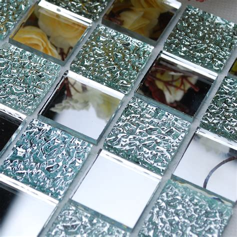 Fliesenspiegel Abschlagen by Wholesale Mirror Tile Squares Blue Bathroom Mirrored Wall