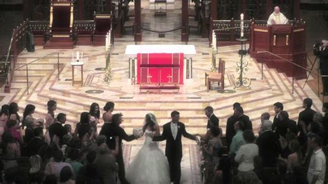 wedding video sacramento cathedral   blessed