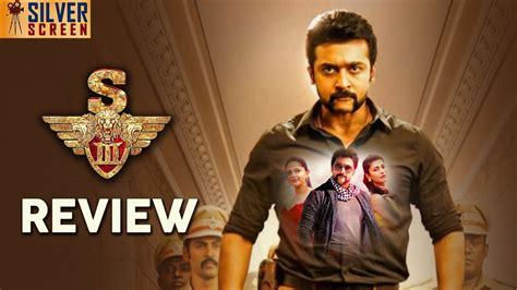 Surya Singam 3 (s3) Review  Singam 3 Movie Review